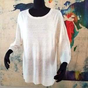 Vince Camuto Women's Linen Sweater